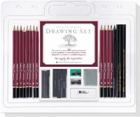 Details for Studio Series 26-Piece Sketch and Drawing Pencil Set (Artist's Pencil Set, Charcoal)
